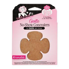 HFS, Gentle No-Show Concealers, Dark Skin Tones
